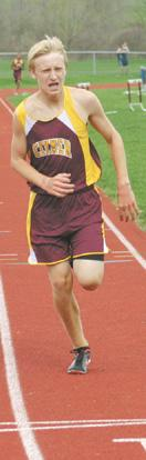 Clymer splits with Chautauqua in track
