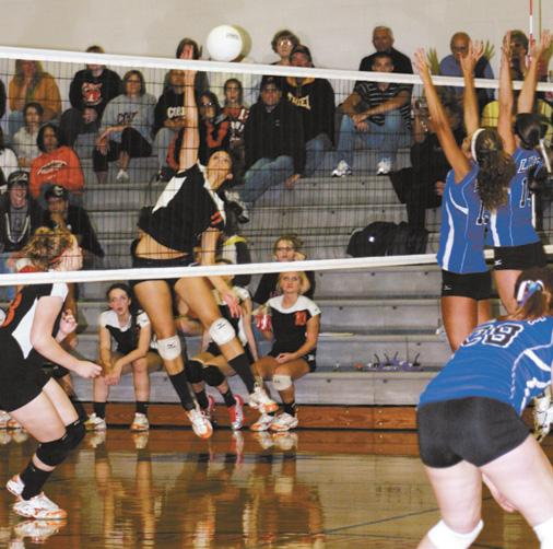 Corry girls swept by FLB