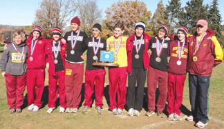 Grapepicker harriers return home from State meet with silver medals