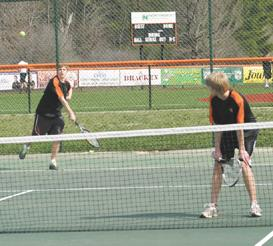 Beaver tennis team falls to MP