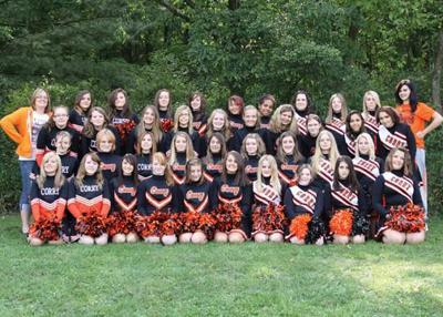 Corry cheerleaders