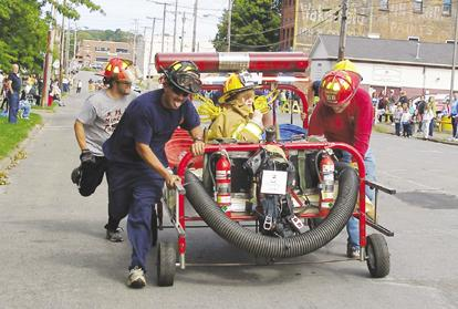 Bed race raises money for free health clinic