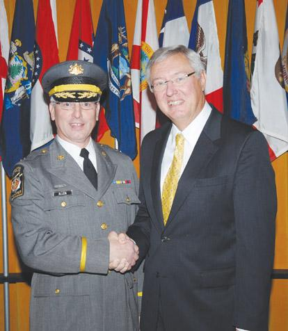 Sparty native promoted to state police captain