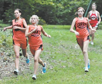 Corry runners outstanding in home opener