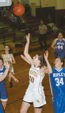 Believe it or not: Nuth hits 3-pointer in Clymer win over Ripley