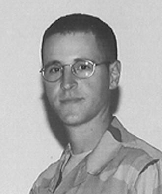 Staff Sgt. Michael Weber deployed