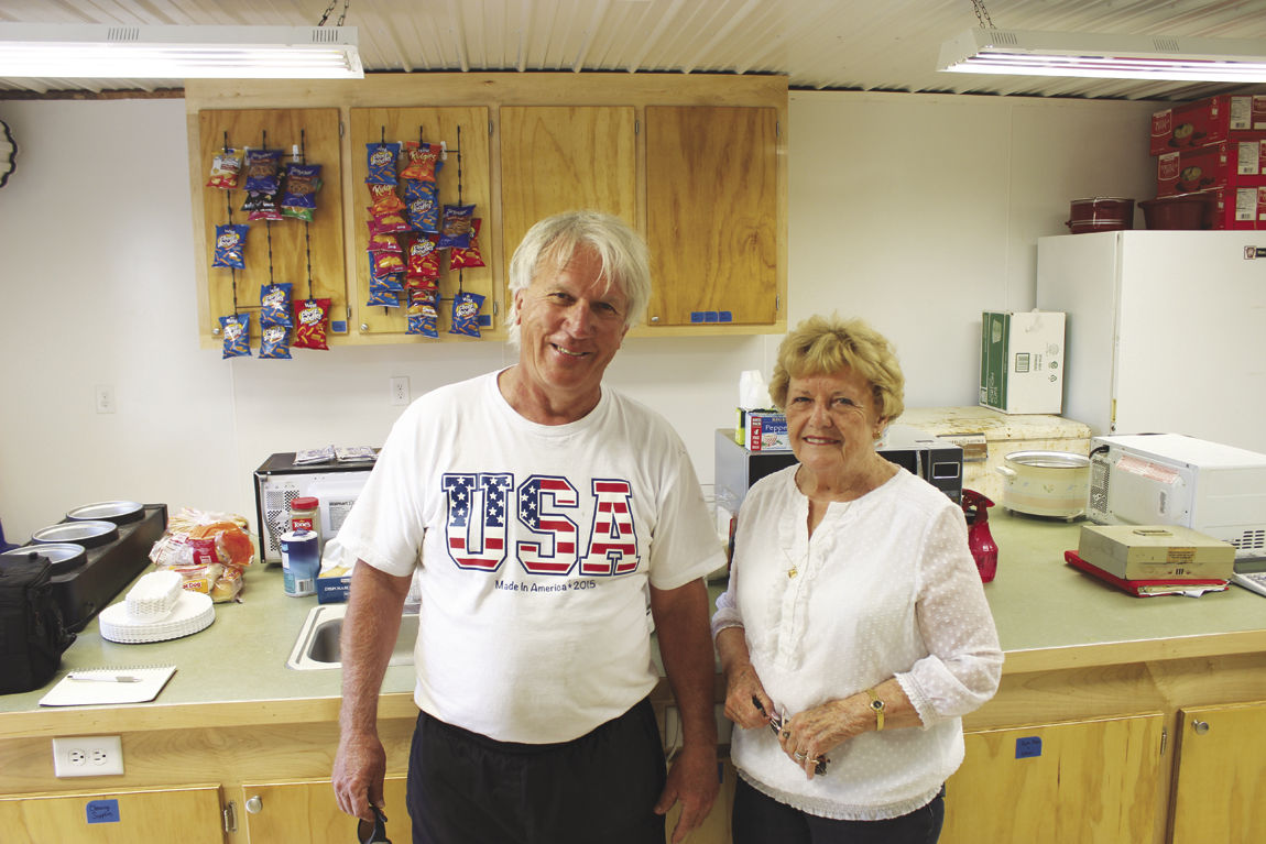 Larry Walters and Mamie Sprandel