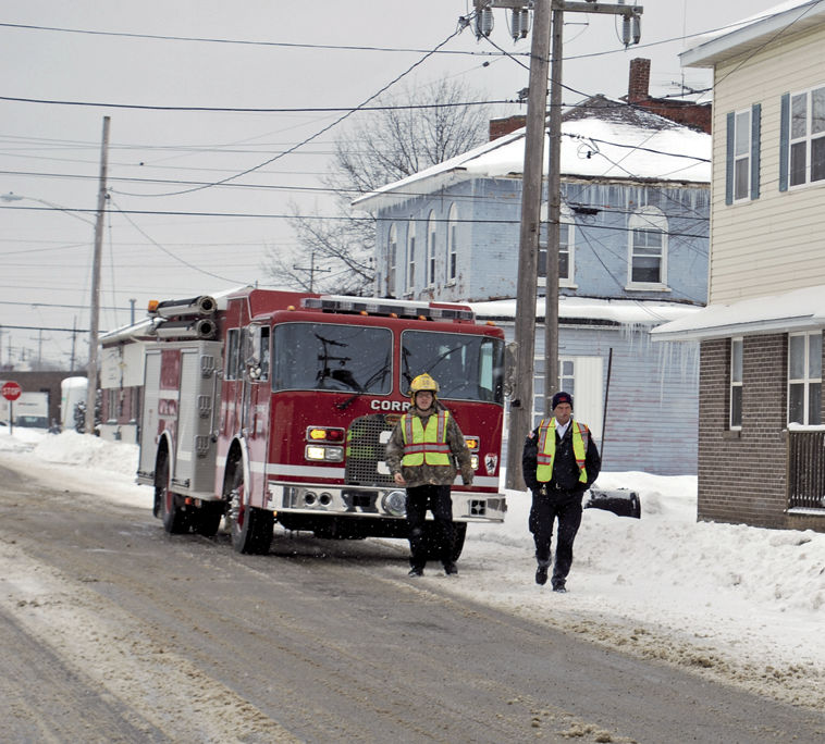 Source of reported natural gas odor unidentified