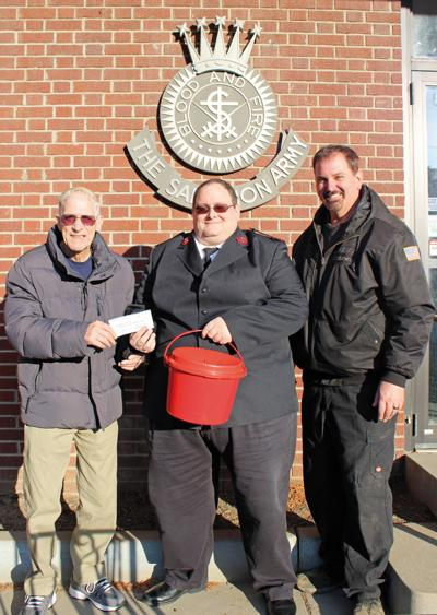 Knights of Columbus donate to Salvation Army
