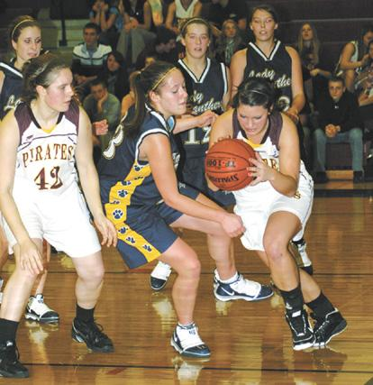 Clymer girls win opener