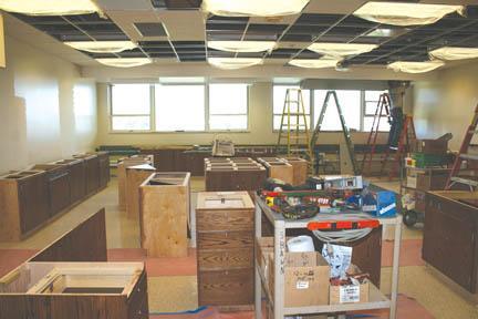 NE School Board: Renovation project on track at NEHS