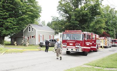 Mead Avenue fire