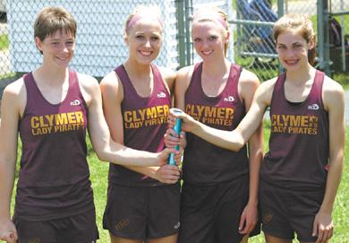 More honors for Clymer girls