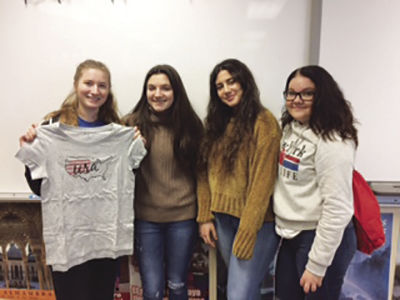 4 foreign exchange students return home  after year abroad