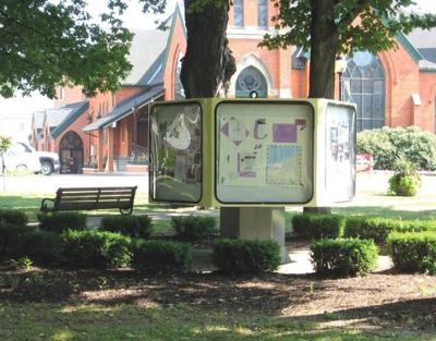 DNE, Inc. unveils renovated Information Kiosk in Gibson Park