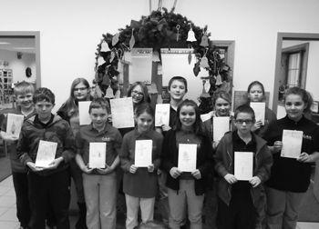 Fifth & sixth graders from CAA