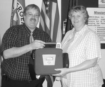 Grant provides Corry Methodist church with life-saving medical equipment