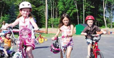 Local kids pedal for a good cause