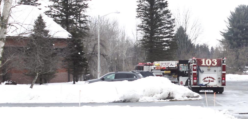 Fire call at Presbyterian church