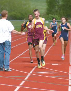 Clymer splits in home track opener