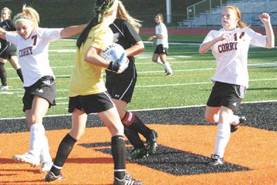 Lady Beavers blanked by Central Tech