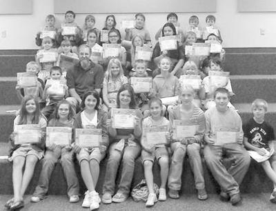 Kiwanis Club Honors Terrific Kids