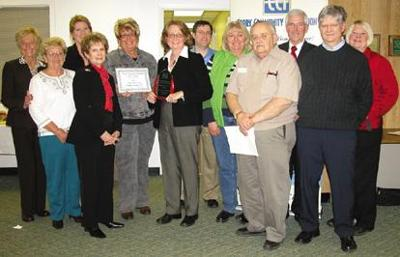 United Fund of the Corry Area receives local service award