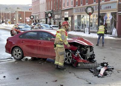 Center Street crash