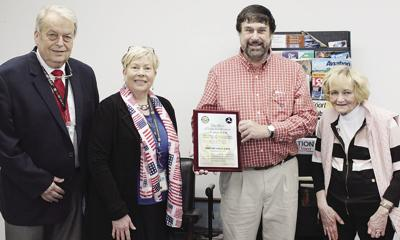 """Corry local John Gage, 71, received the Wright Brothers """"Master Pilot Award"""""""