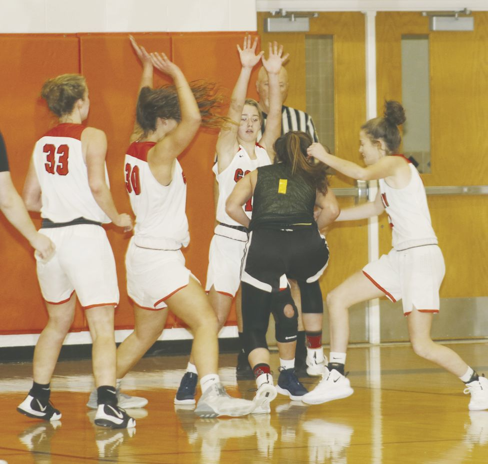 Girls basketball scrimmages
