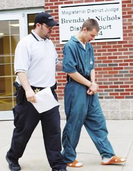 Corry man, 20, waives hearing on charges he stole from elderly relative