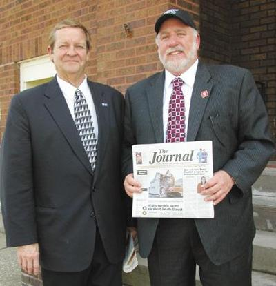 County exec visits Corry