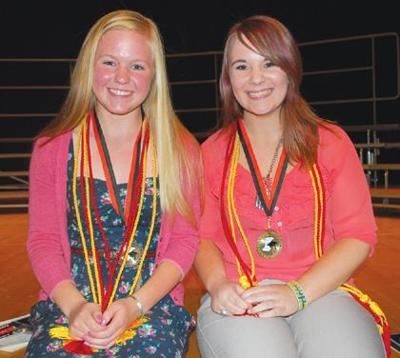 Corry Area High School announces 2012 valedictorian, salutatorian