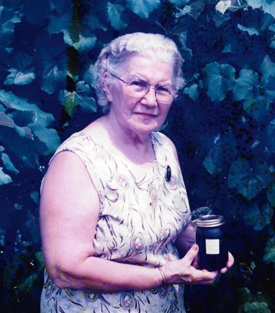 Marjorie V. Skinner Stewart Barker, 92
