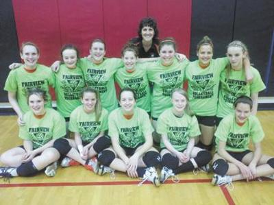 Corry girls volleyball tourney champs