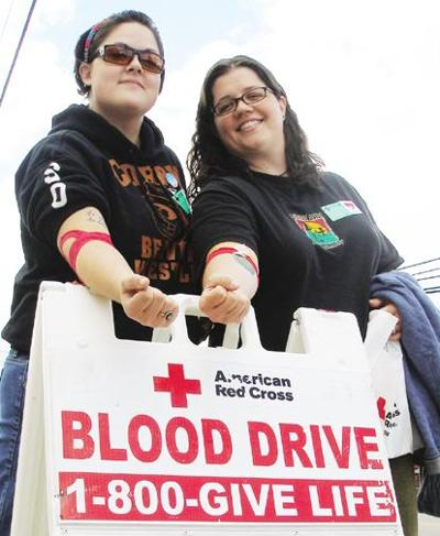 Blood donors roll up sleeves for 9/11 tribute