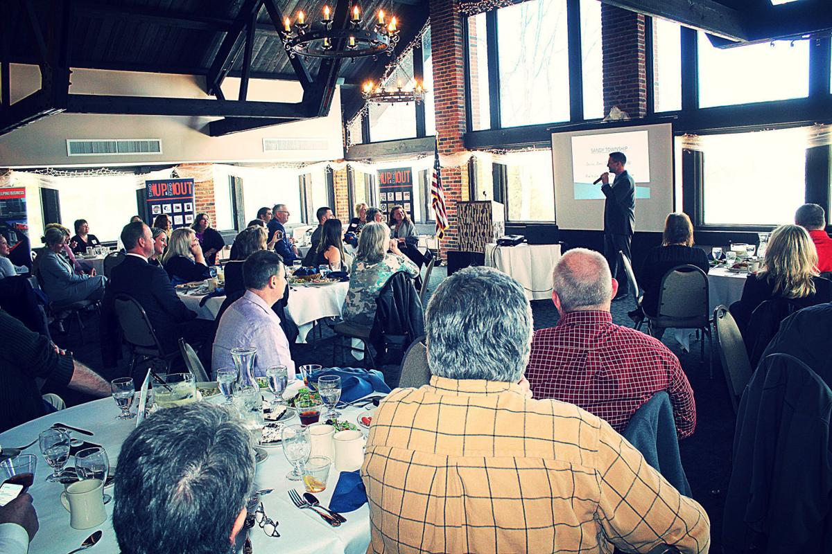 Arbaugh speaks at Greater DuBois Chamber's Business Connections luncheon