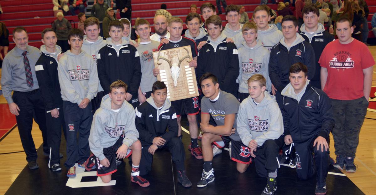 DuBois team Pete Morelli trophy