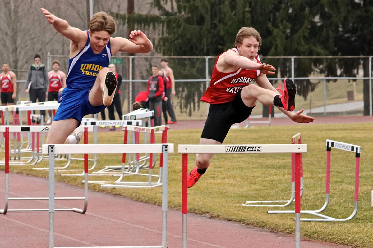 Ferringer and Bowser 110 hurdles