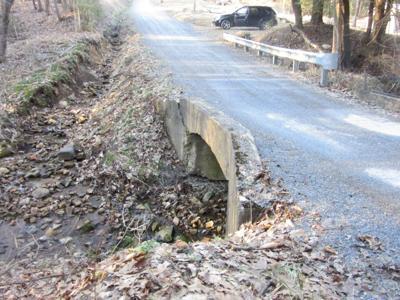 Rose Siding Road Bridge in need of repair