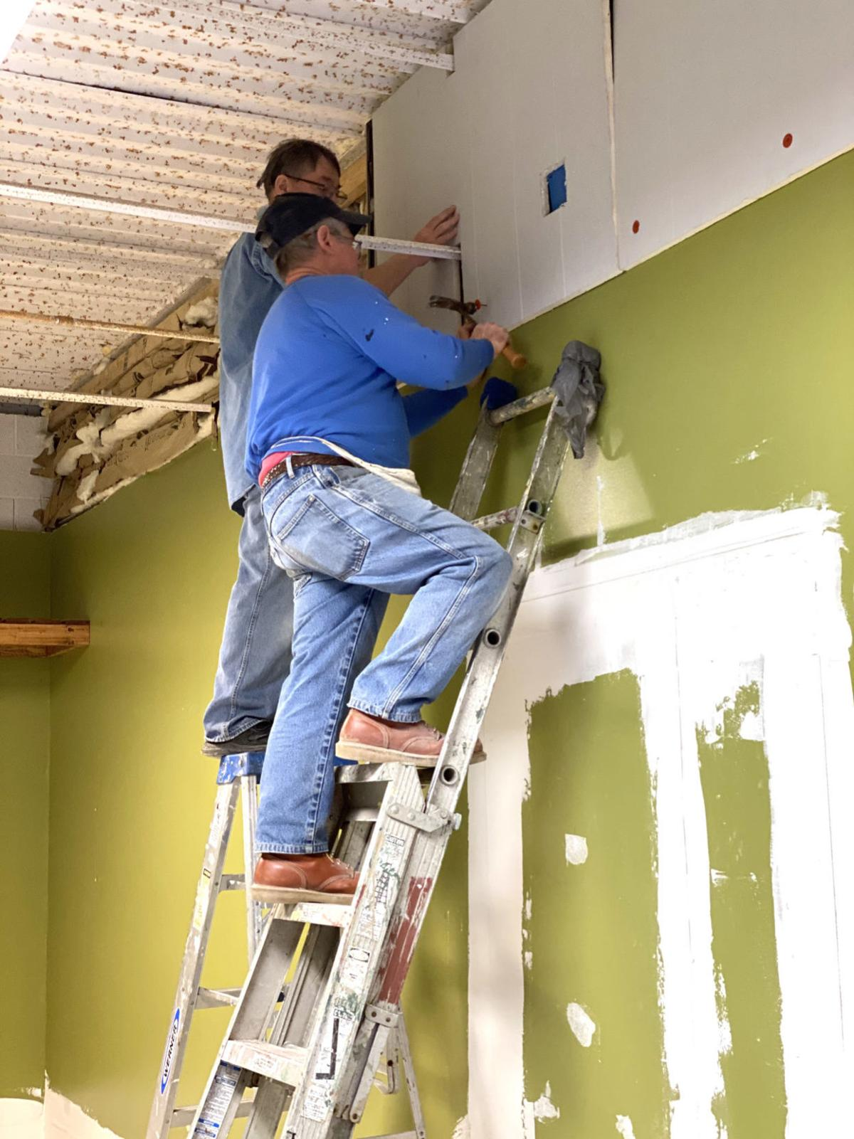 Slight remodel being done for new food pantry site