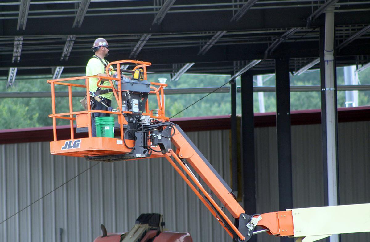 Hallstrom Construction worker