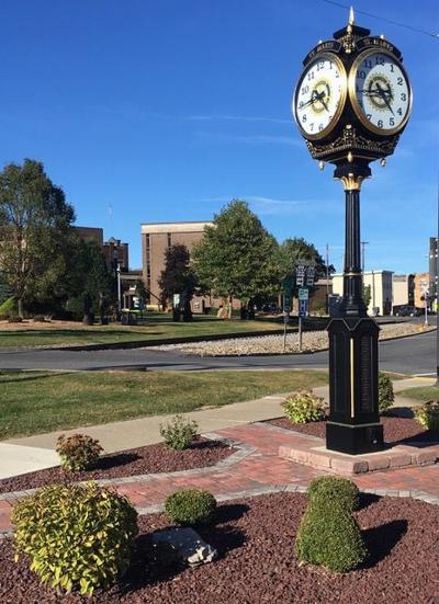 Downtown St. Marys Clock picture for online