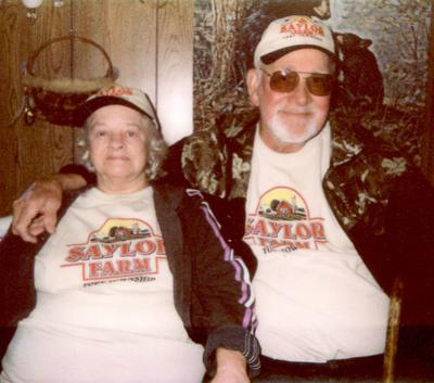 MR. AND MRS. HAROLD SAYLOR