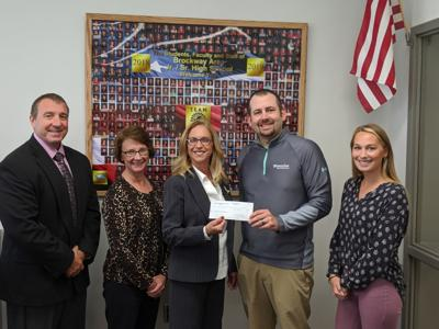 Priority First makes donation to Brockway Foundation