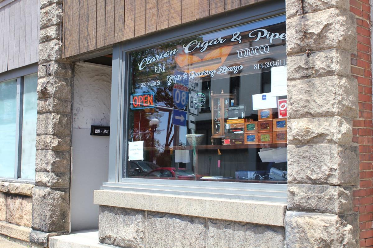 Clarion Cigar & Pipe store front