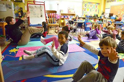 RA Classroom yoga