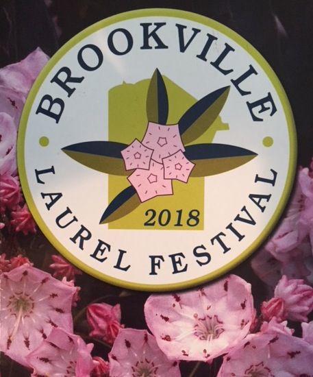 Brookville Laurel Festival logo