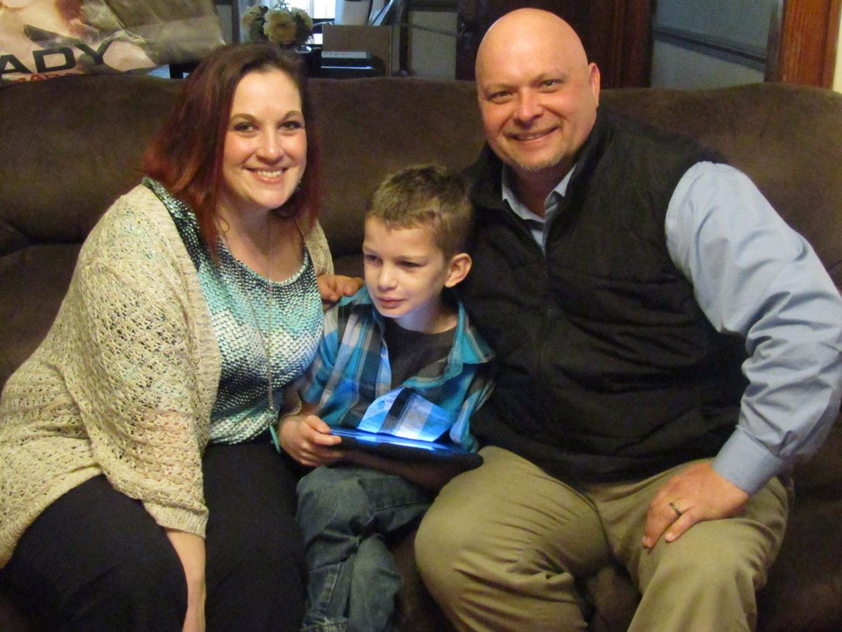 Clearfield family hopes their son can meet his hero lady gaga lady gaga story family photo m4hsunfo