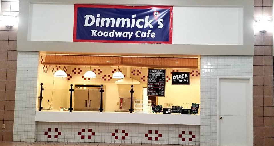 Dimmick's Roadway Cafe in the DuBois Mall